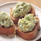 Try the Fava Bean and Ricotta Crostini with Fresh Mint Recipe on Williams-Sonoma.com