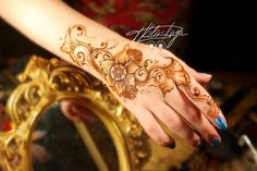 Floral Mehndi design/Цветочное мехенди - YouTube