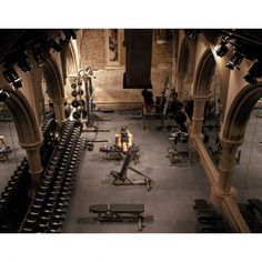 DAVID BARTON GYM - LIMELIGHT (NEW YORK, NY) David Barton gyms are notoriously kooky, and this one--housed in a former Episcopal church turned drug rehab center turned mega-nightclub (Limelight, anyone? Read more: 7 of the World&