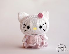 Ravelry: Hello Kitty Tanoshi Doll pattern by Tatyana Korobkova