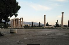 Atenas. Templo de Zeus Olímpico.
