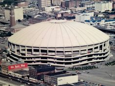 The old Seattle Kingdome, It was torn down long ago to make way for our new football stadium
