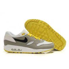 $61.85 #kingjames #lebron #mensfashion #menstyle  #footlocker #footwear #lebronjames   nike air max 1 grey yellow,Mens Cheap Nike Air Max 1 Trainers Grey/Yellow/White http://airmaxcheap4sale.com/98-nike-air-max-1-grey-yellow-Mens-Cheap-Nike-Air-Max-1-Trainers-Grey-Yellow-White.html