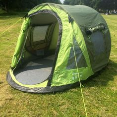 Urban Escape - Matsuri 2 Man Green Popup (Pop up) Tent - C&ing / & Buy 1 6 or 12 galvanised steel tent pegs from TentHappy - Free UK ...