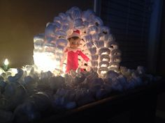 Elf igloo elf on the shelf idea