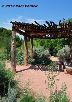 Shade ramada, the ramada is the primitive version of the pergola, built with local materials.