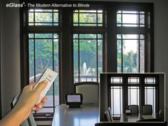 eGlass windows - Modern Solution for Privacy. Instantly Switch to frosted at the touch of a button