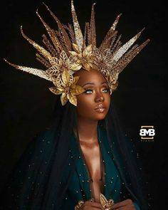 Goddesses Never Age. Happy Birthday to this Beautiful Soul! African Goddess, Egyptian Goddess, My Black Is Beautiful, Beautiful Soul, Dark Fairytale, Photoshoot Themes, Afro Style, African Beauty, African Art