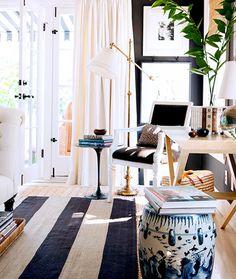 cortinas, luz natural, tapete