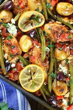 This easy Mediterranean-inspired dish will have your mouth watering.