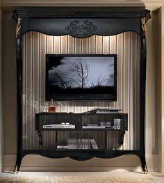 Muebles Portobellostreet.es: Mueble TV Alto Byblos - Muebles de Tv Vintage - Muebles de Estilo Vintage