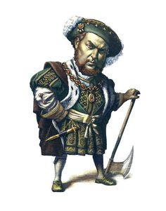 Henry VIII  https://www.behance.net/gallery/586286/WICKED-PORTRAITS