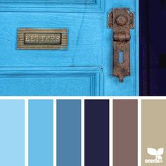 SnapWidget | today's inspiration image for { a door hues } is by @auntieclaras ... thank you Clara for generously sharing your work #SeedsColor !