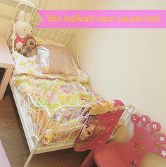 Van babykamer naar een grote meidenkamer met peuterbed. Hoe deze overgang verliep en hoe haar nieuwe peuterkamer eruit ziet? Mommy monday: Van Ledikant naar peuterbed