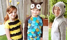Costumes for older kids made from hoodies, sweatshirts and t-shirts.  I see a shark in my future!