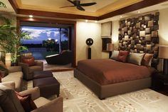 Eclectic Cool Room Designs for Guys in Better Pleasure Application: Interesting Tropical Bedroom With The Cool Room Designs For Guys And Bro...