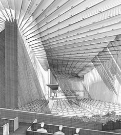 Paul Rudolph – Fortress   Graphicine