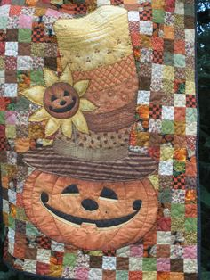 pumpkin wall hanging…very fun looking