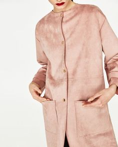 FAUX SUEDE COAT-OUTERWEAR-WOMAN | ZARA United States