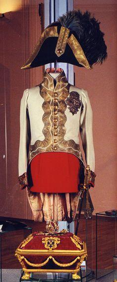 Uniform and cocked hat of Emperor Francis I of Austria