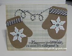 Corrie's Crafts: Baby it's Cold Outside