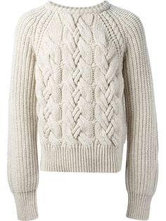 Shop Cerruti cable knit sweater in Verso from the world's best independent boutiques at farfetch.com. Over 1000 designers from 60 boutiques in one website.
