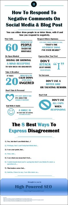 8 Ways to Disagree With Negative Social Media Comments Without Starting a Fight