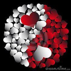 ying & yang do amor Love Heart Images, I Love Heart, Happy Heart, Heart Wallpaper, Love Wallpaper, Iphone Wallpaper, Ying Y Yang, Yin Yang Art, Free Cliparts