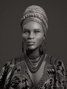 African women by Leandro Mendonça at Coroflot.com