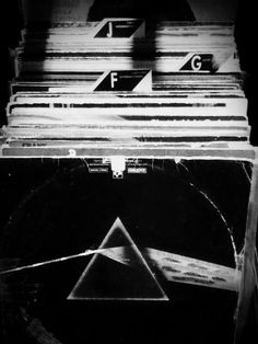Records / Black and White Photography