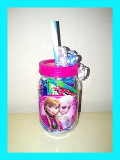 Disney Frozen Treat Cup, Frozen Pre-filled Loot Bag, Disney Frozen Party Supplies, Anna, Elsa, Olaf