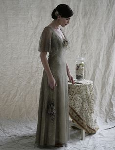 Sally Lacock, Vintage Inspired Vintage Wedding Dress Collection 2012-2013 | Elsa