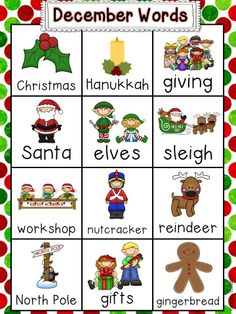 Christmas Common Core Centers & Activities for Kindergarten! Perfect for the 2 weeks before break! $