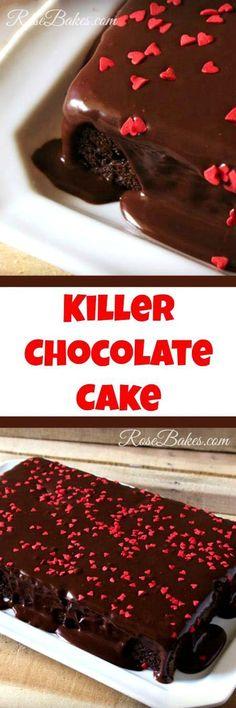Killer Chocolate Cak