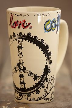 Amazing2017 Best Friends Long Distance Friendship I Ing Miss Peace Sign Coffee Mug By Moorefieldpottery