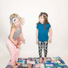 Hand Printed Organic Baby/Kids Leggings by thiefandbanditkids