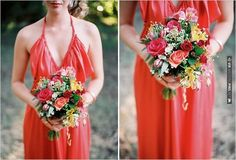 red bridesmaid dress | CHECK OUT MORE IDEAS AT WEDDINGPINS.NET | #bridesmaids