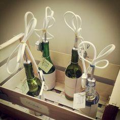 Lámparas botella recicladas de #Saudade para espacios con encanto #sevilla #shopping #iluminacion #deco #recycled Wabi Sabi, Recycling, Recycled Bottles, Contemporary Art, Sevilla, Spaces, Exhibitions, Repurpose, Upcycle