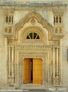 Selahaddin-i Eyyubi Cami Guzey Kapısı SİLVAN/DİYARBAKIR /TÜRKİYE