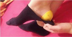 Después de aprender este truco, ¡nunca más te irás a la cama sin una cáscara de limón en los pies!
