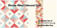 Double-Sided Diamond Quilt