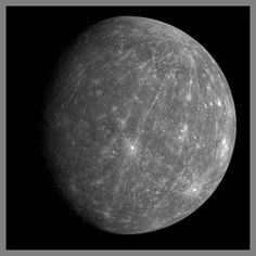 O planeta Mercury