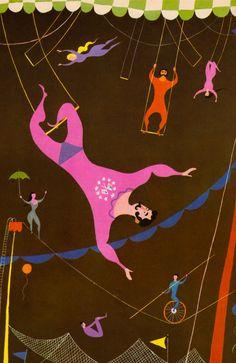 Acrobats by Aurelius Battaglia