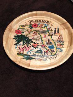 Florida Souvenier Tray by 2Heartsstudio on Etsy, $10.00