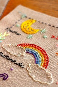 free embroidery patterns hand #Embroiderypatterns