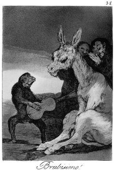 Francisco Goya, Bravo!, Los Caprichos no. 38