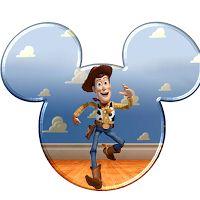 Imprimibles de cabezas de Mickey a lo Toy Story.