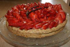 Tarte aux fraises et à la crème pâtissière salut tout le monde, Vous avez envie d'une délicieuse...