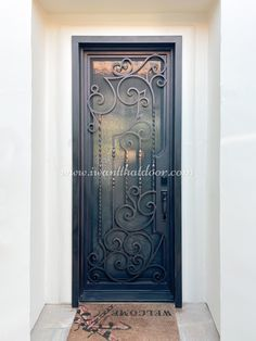 😇😇😇 With our new generation of Iron Doors, we are bringing in the highest quality door and product for your home or business!! -- ☎️☎️☎️ Call 877-205-9418 for Orders and Inquiries 🆓🆓🆓 Take advantage of FREE CONSULTATION and FREE DESIGN ⚠️⚠️⚠️ About this Beautiful IRON DOOR: Tampa, Single Entry Iron Door -- #cheapirondoor #modernirondoors #entrydoors #bifolddoors #slidingdoor #steeldoors #pivotdoors #frenchdoors #freeconsultation #glassgaragedoor #homeimprovement Pivot Doors, Entry Doors, Sliding Doors, Glass Garage Door, Wrought Iron Doors, Steel Doors, French Doors, Free Design