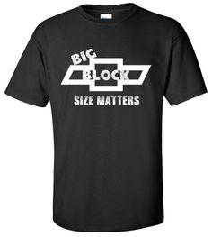 Hot Rod Gear Head Chevy Big Block T-shirt Monster Mud Truck Tee
